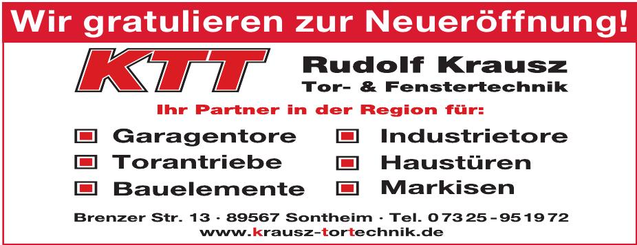 KTT Rudolf Krausz Tor- & Fenstertechnik