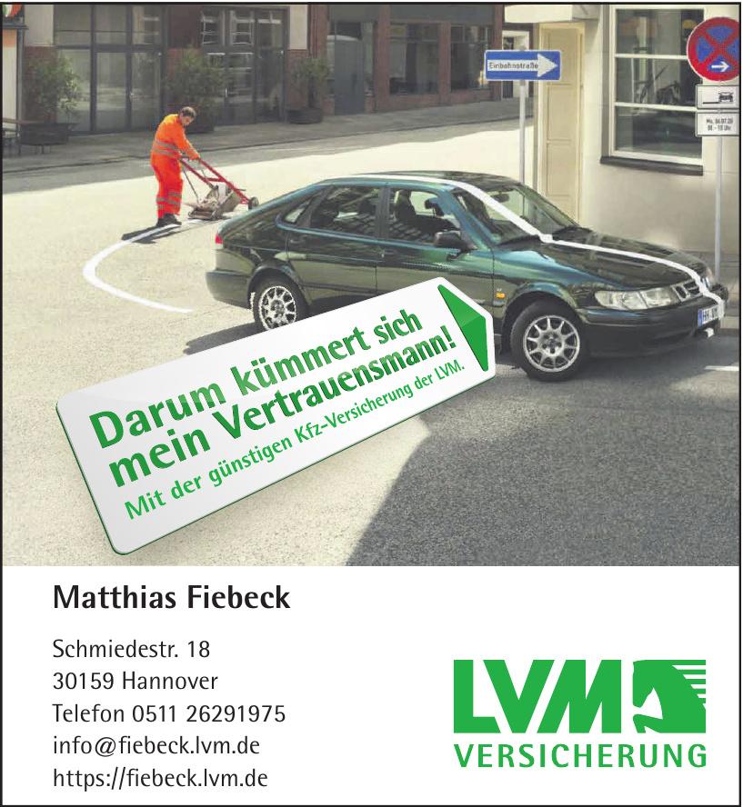 LVM Versicherung Matthias Fiebeck