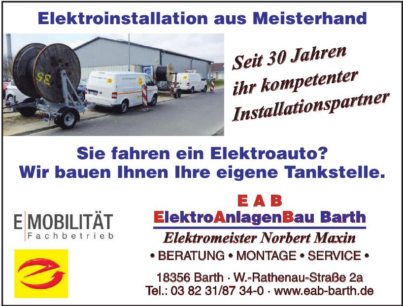 ElektroAnlagenBau Barth