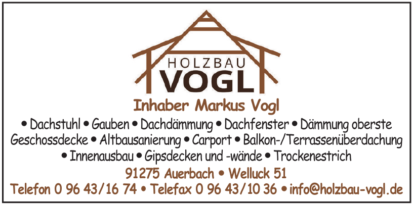 Holzbau Vogl