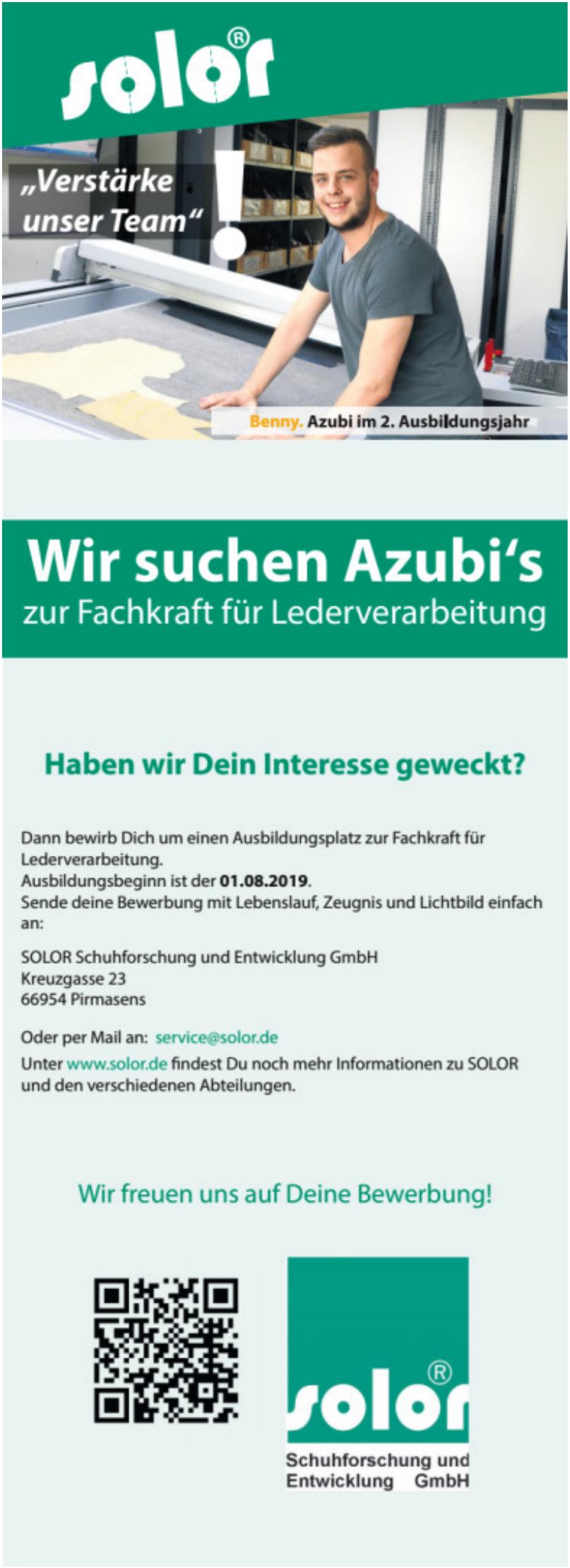 Solor Schuhforschung und Entwicklung GmbH