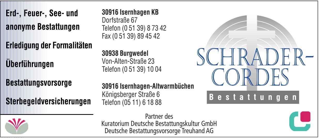 Schrader-Cordes Bestattungen