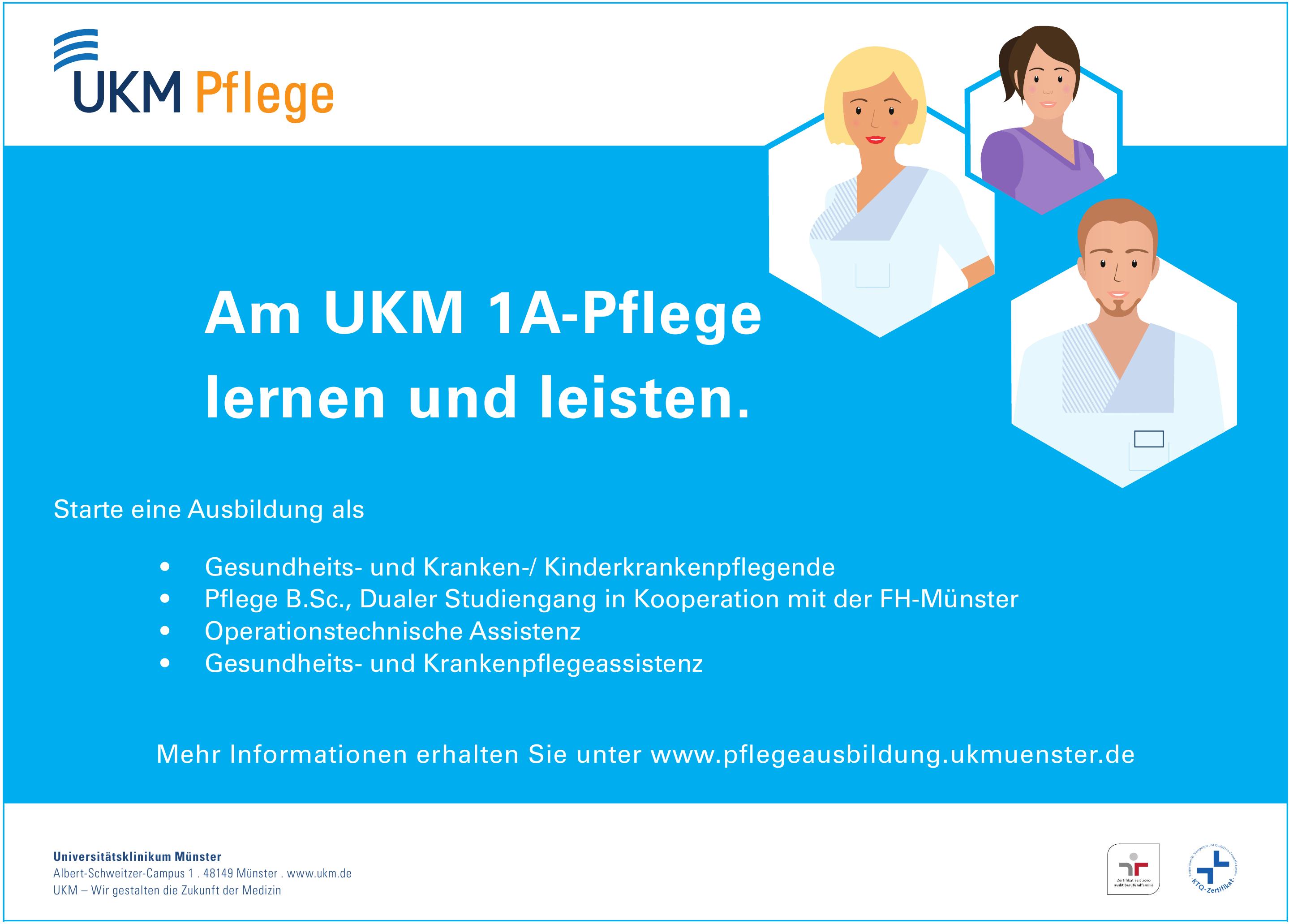 UKM Pflege - Universitätsklinikum Münster