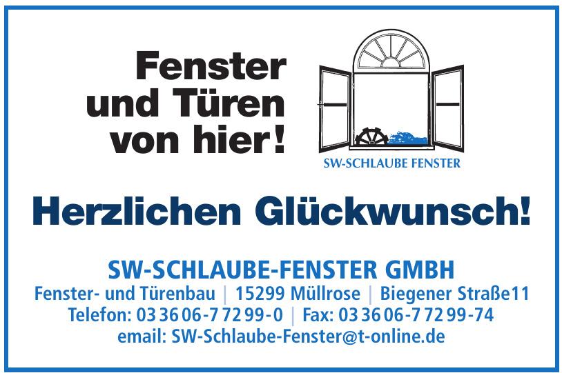 SW-Schlaube-Fenster GmbH