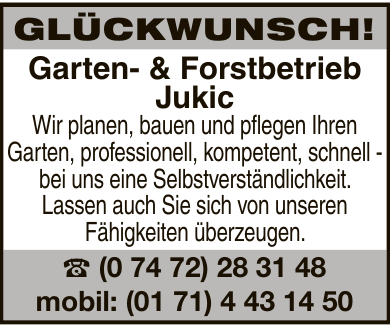 Garten- & Forstbetrieb Jukic
