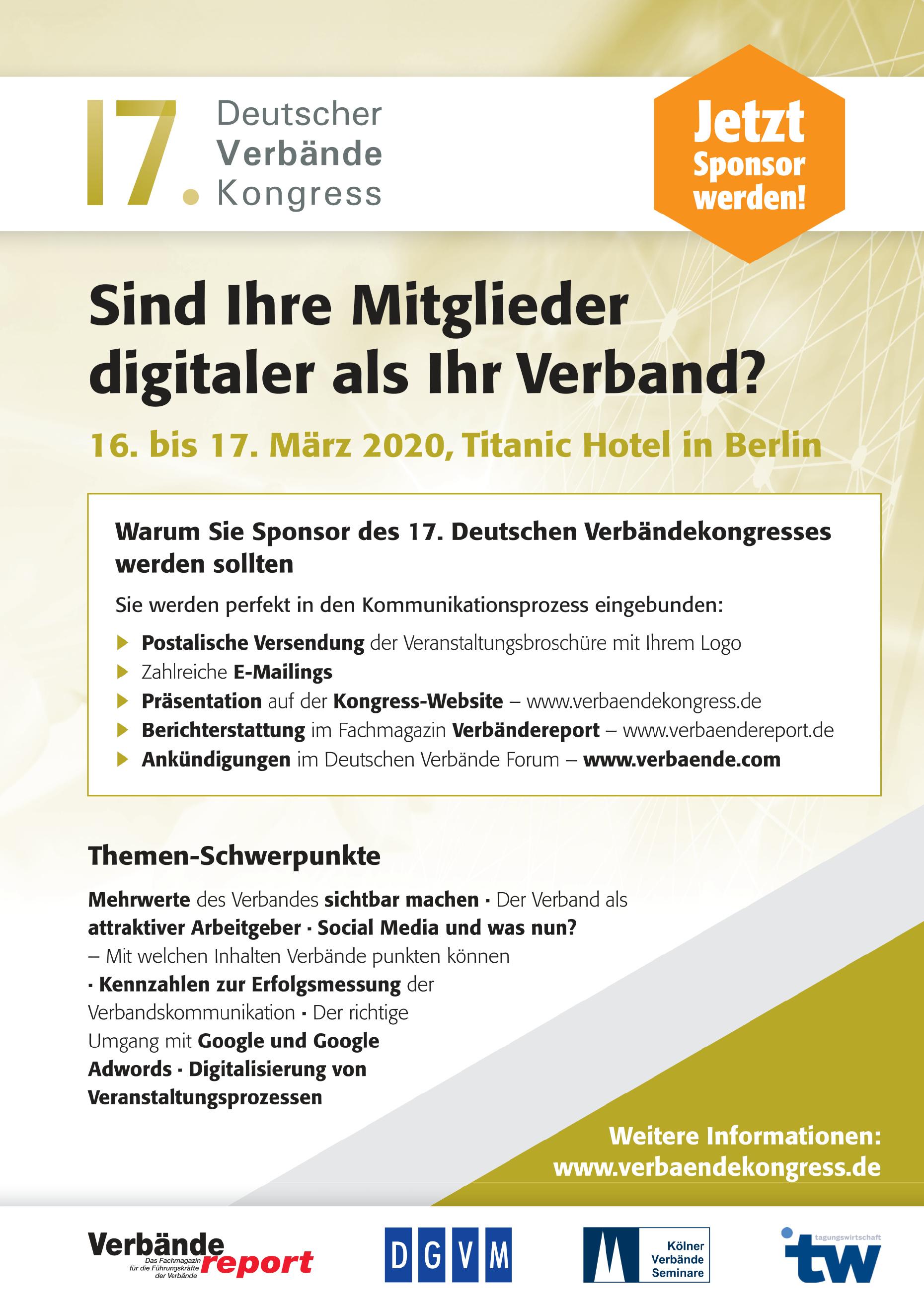 17. Deutscher Verbändekongress
