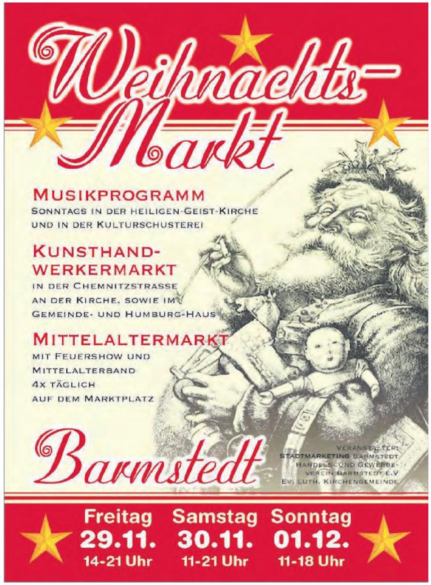 Weihnachtsmarkt - Stadt Barmstedt