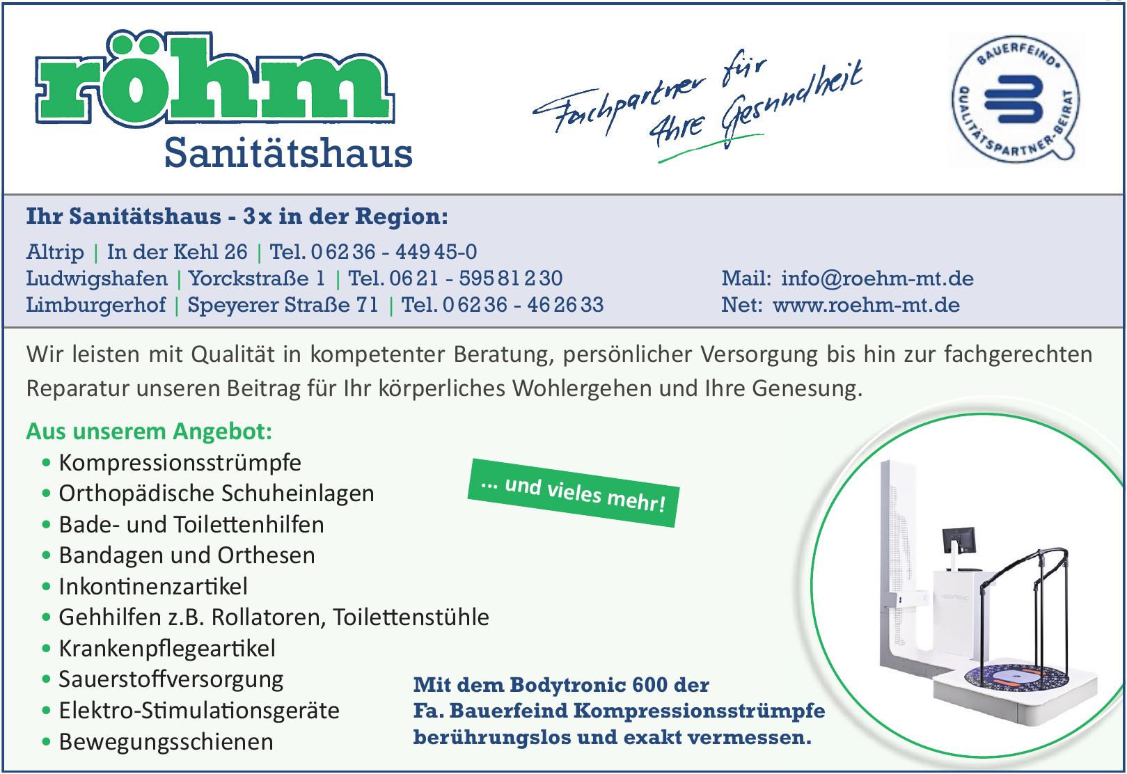 Sanitätshaus Röhm