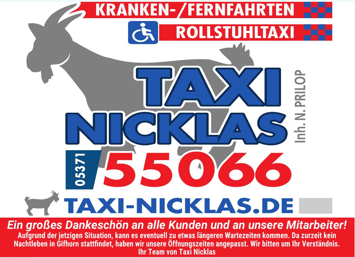 Taxi Nicklas