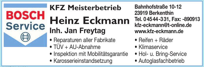 Bosch Service KFZ Meisterbetrieb Heinz Eckmann