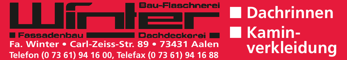 Fa. Winter Bau-Flaschnerei