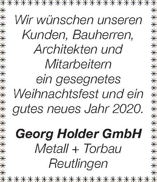 Georg Holder GmbH Metall + Torbau