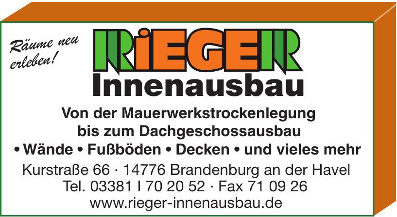 Rieger Innenausbau