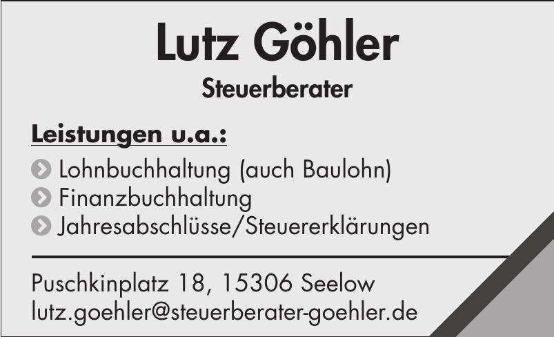 Lutz Göhler - Steuerberater