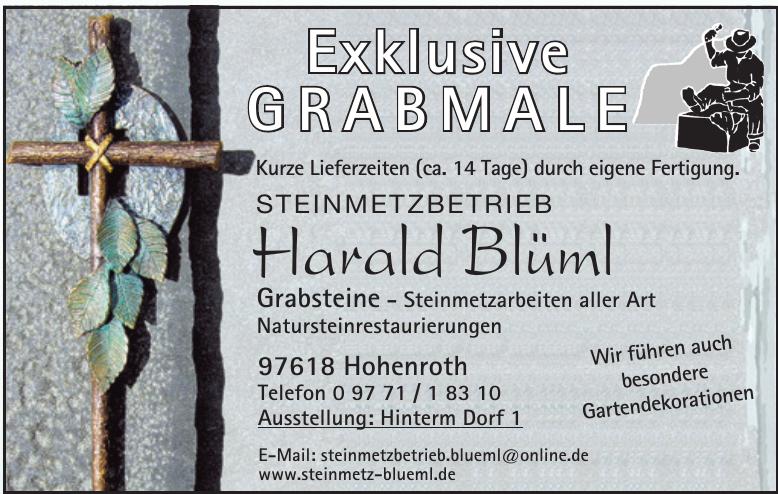 Harald Blüml Steinmetzbetrieb