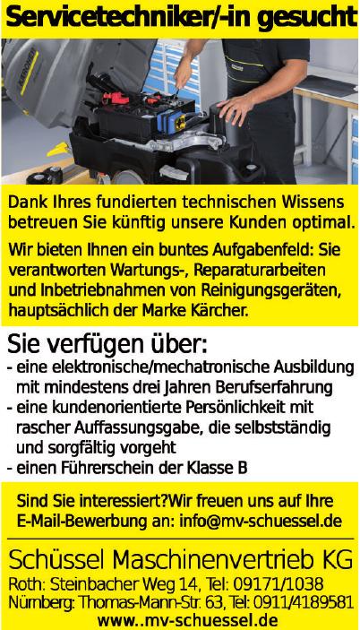 Schüssel Maschinenvetrieb KG