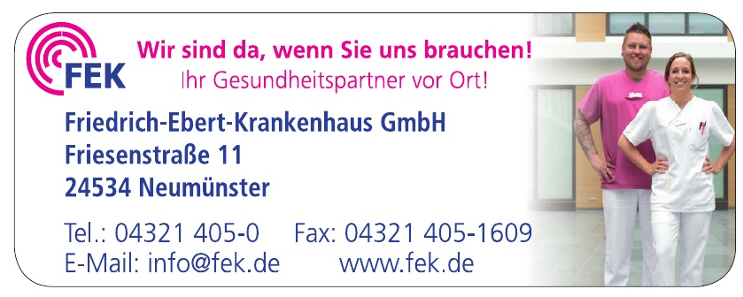 FEK Friedrich-Ebert-Krankenhaus GmbH