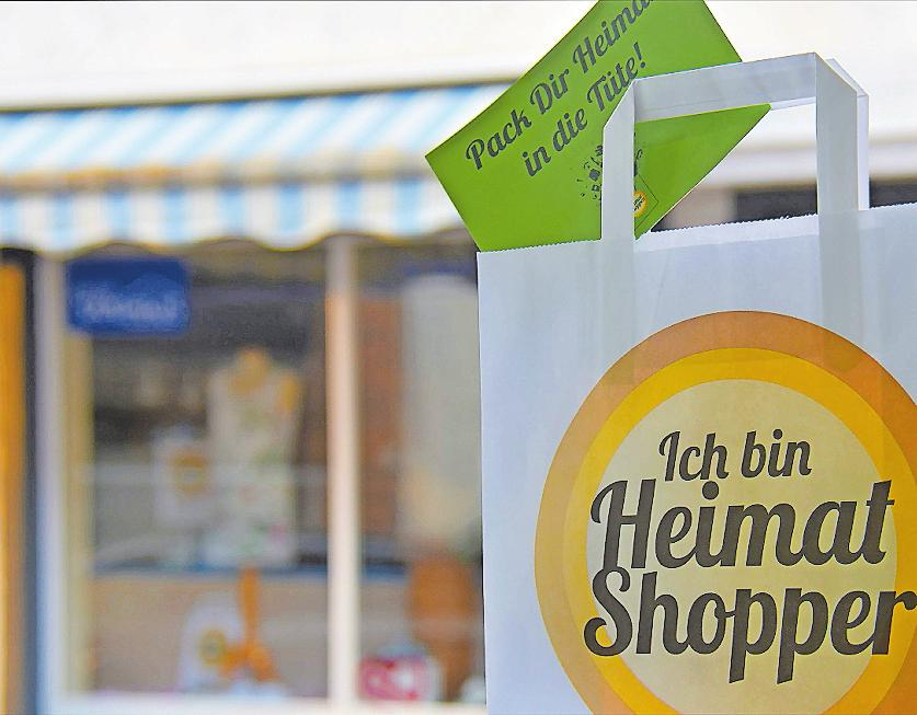 """Die bundesweite Aktion """"Heimat shoppen"""" ist schon 2014 ins Leben gerufen worden. In diesem Jahr ist die Pfalz besonders stark vertreten. FOTO: HAMM"""