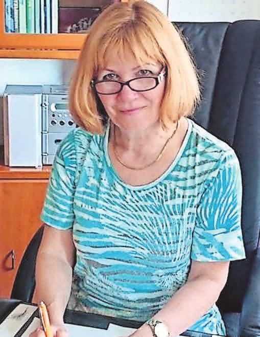 Judith Doerfert in ihrer naturheilkundlichen Praxis. Foto: privat