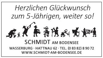 Schmidt am Bodensee