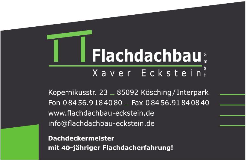 Flachdachbau Eckstein GmbH