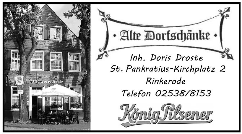 Alte Dorfsdjänke, Inh. Doris Droste