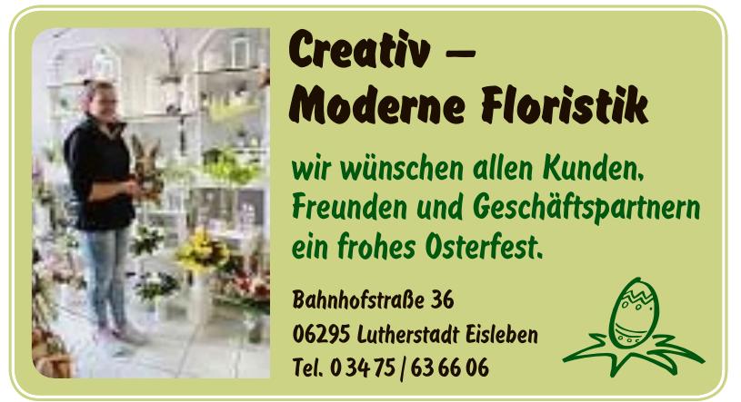 Creativ – Moderne Floristik
