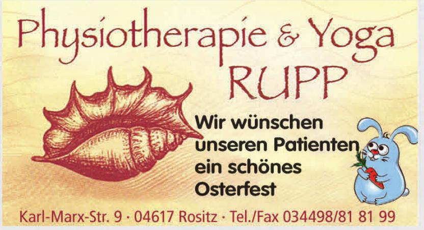 Physiotherapie & Yoga Rupp