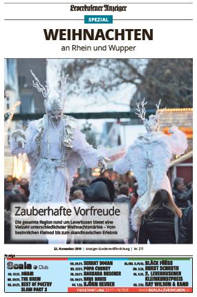Weihnachten an Rhein und Wupper