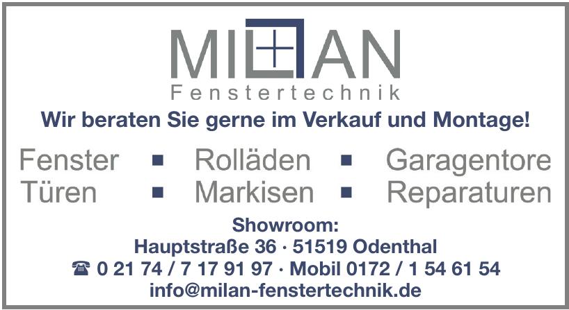 Milan Fenstertechnik