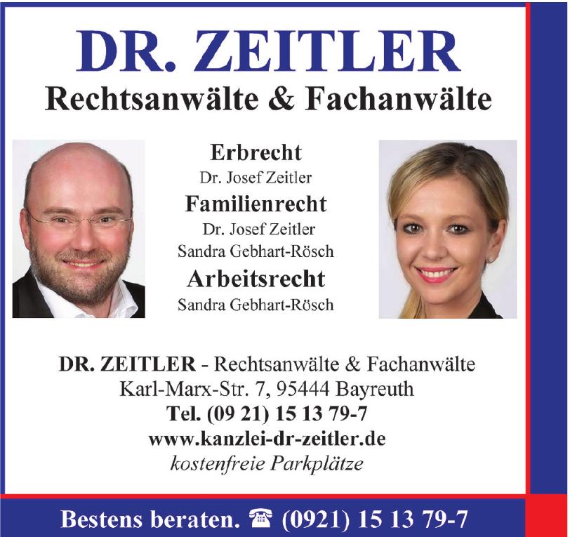 Dr. Zeitler