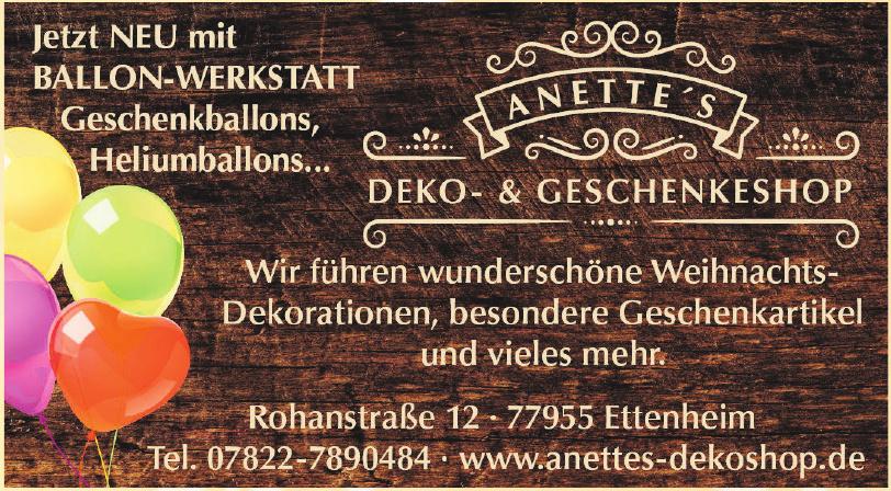 Anettes Deko- & Geschenkeshop