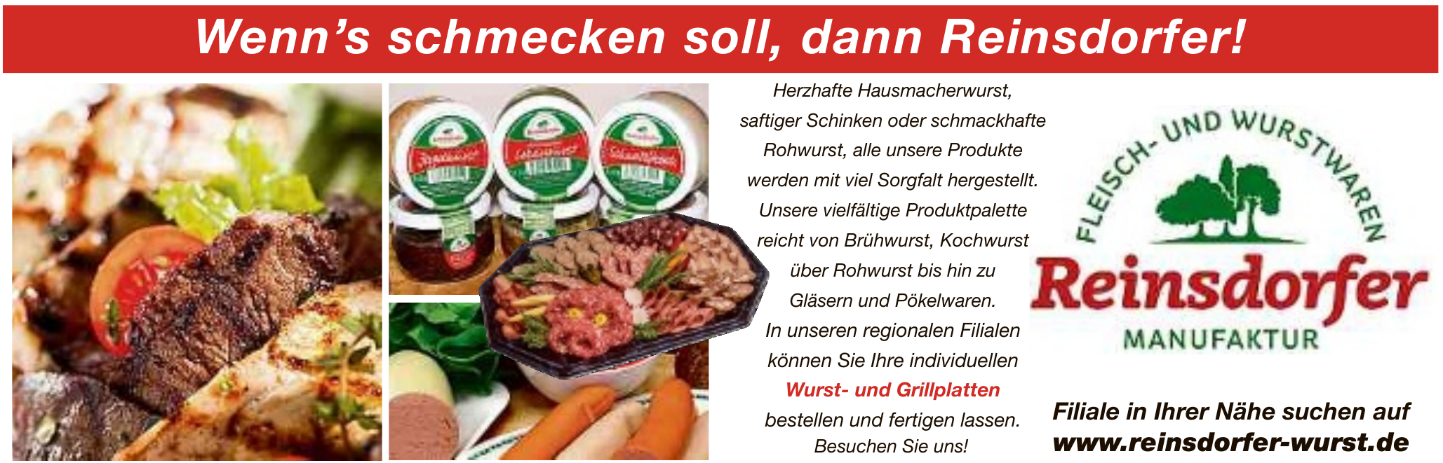Fleisch- und Wurstwaren Reinsdorfer Manufaktur