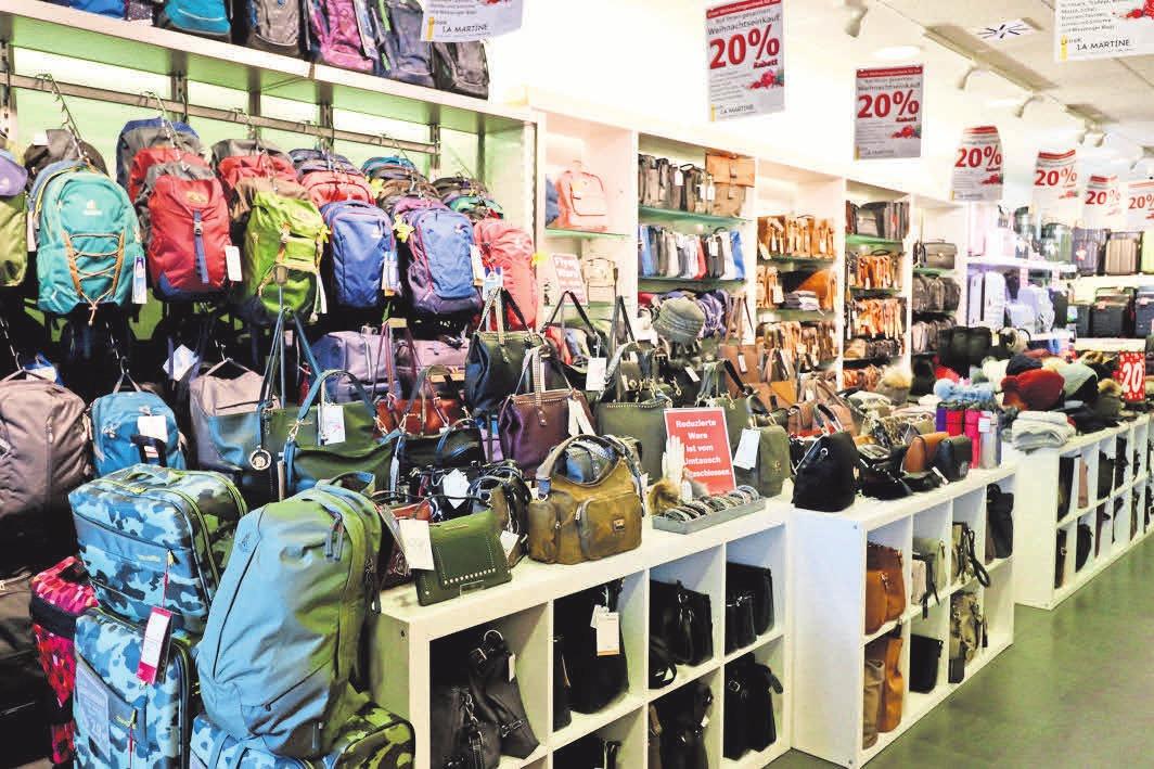 Rabatte auf Rucksäcke, Businesstaschen und Koffer – bei Leder La Martine lohnt sich der Weihnachtseinkauf.
