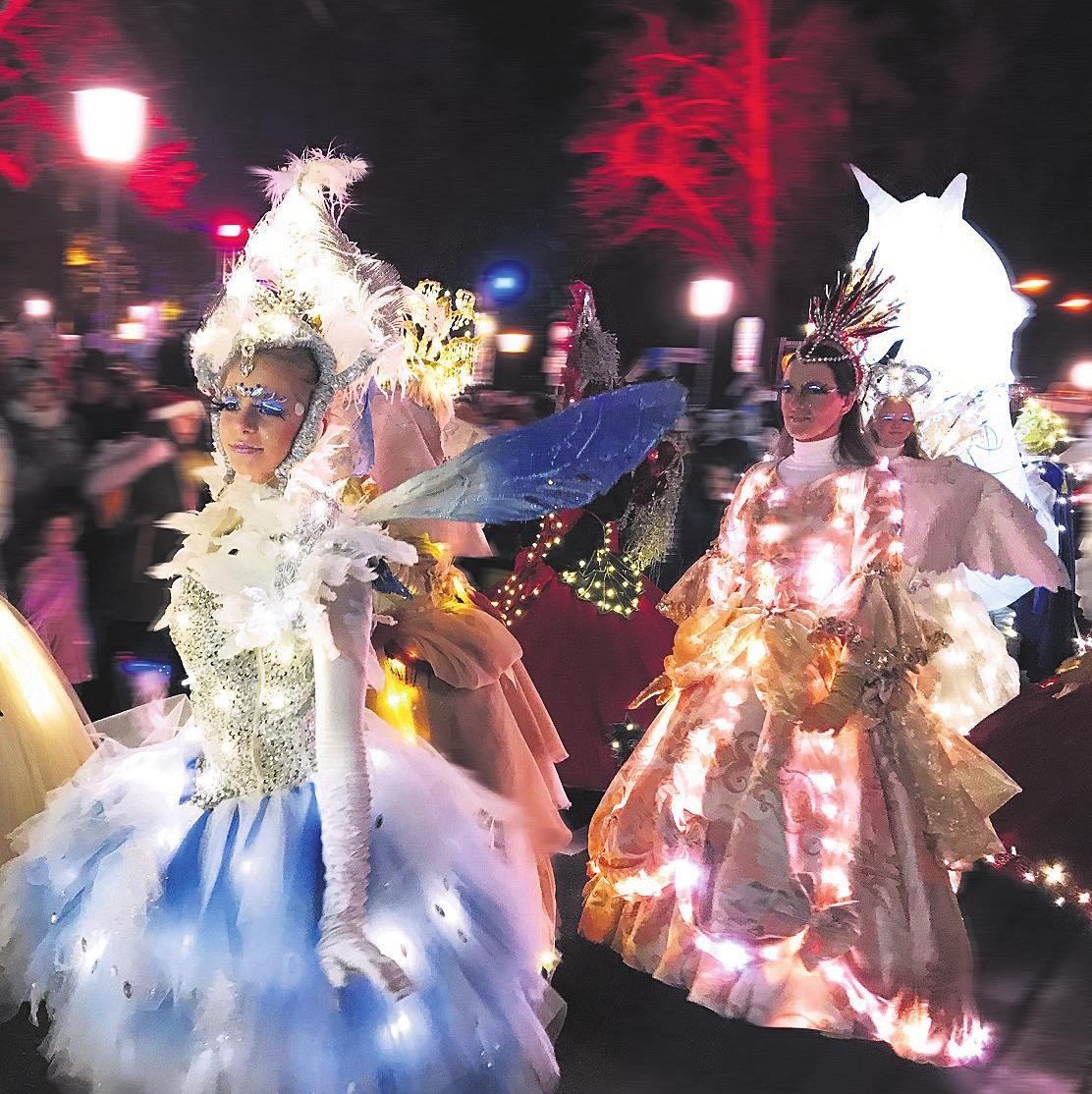 Die Lichterparade hüllt die Celler Altstadt am ersten Adventswochenende in ihren Glanz. Foto: Stadt Celle