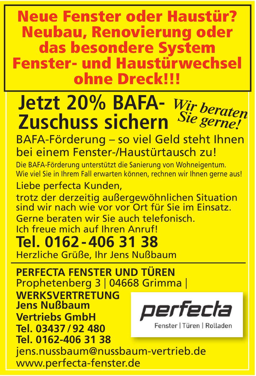 perfecta Fenster Vertriebs- und Montage GmbH