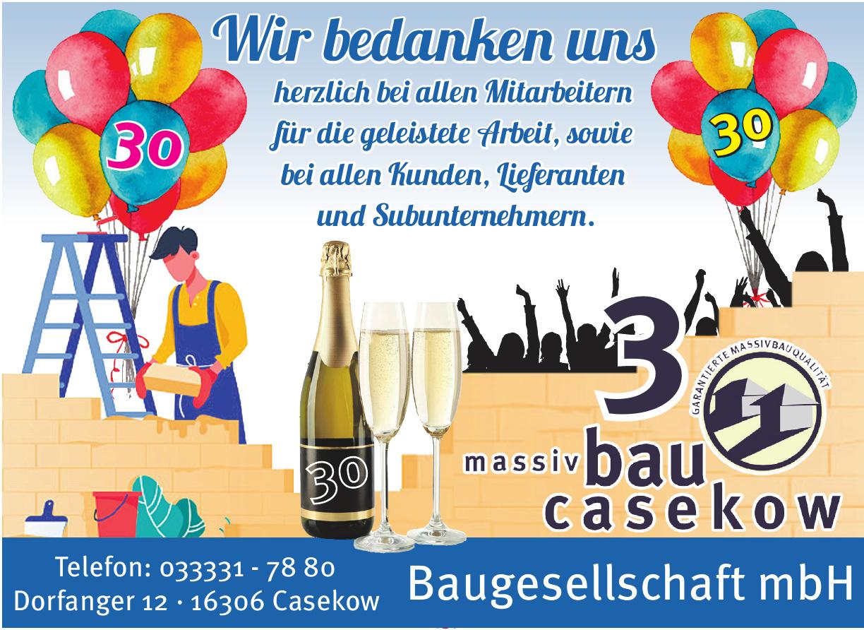 Massivbau Casekow Baugesellschaft mbH