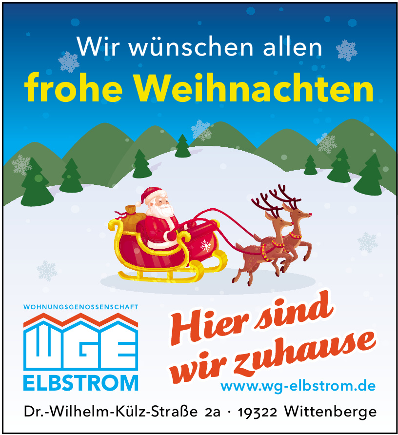 Wohnungsgenossenschaft Elbstrom eG Wittenberge