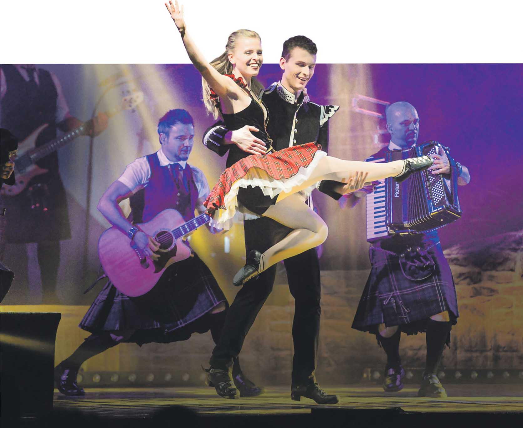 Tänzer von Weltrang und eine Live-Band präsentieren Non-Stop-Unterhaltung