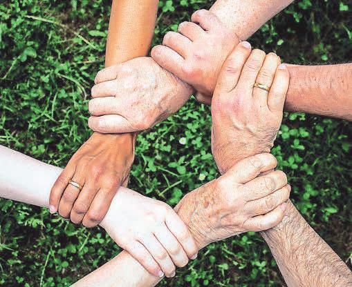 Guter Zusammenhalt gibt ein Gefühl von Sicherheit. Foto: Pixabay.com