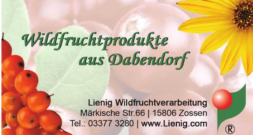 Lienig Wildfrucht-Verarbeitung GmbH