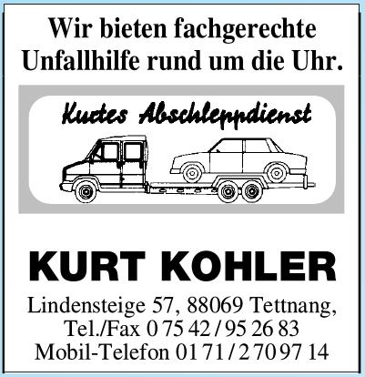 Kurt Kohler