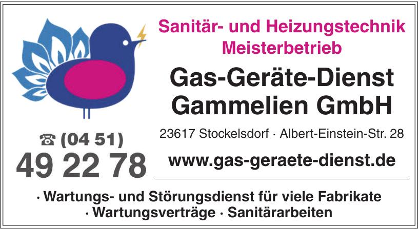 Gas-Geräte-Dienst Gammelien GmbH