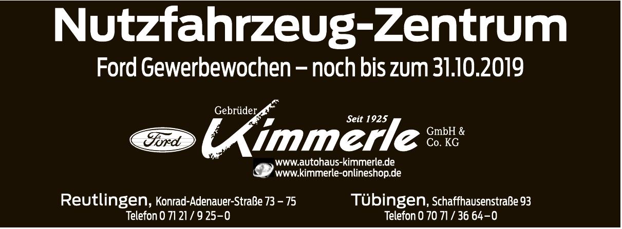 Gebrüder Kimmerle GmbH & Co. KG