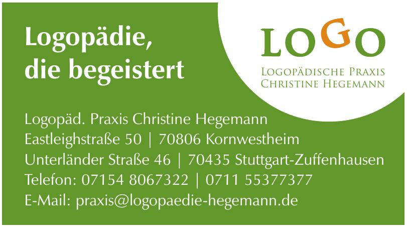 Logopäd. Praxis Christine Hegemann