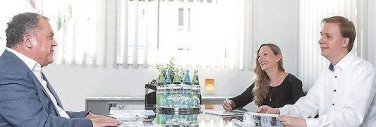 Mit Leidenschaft und Engagement: Jürgen Inreiter (links) mit seinem Team.