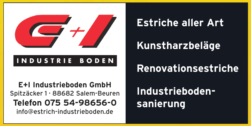 E+I Industrieboden GmbH