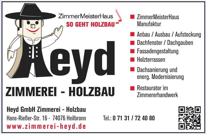 Heyd GmbH Zimmerei - Holzbau