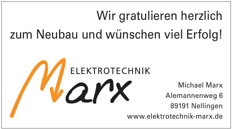 Elektrotechnik Marx