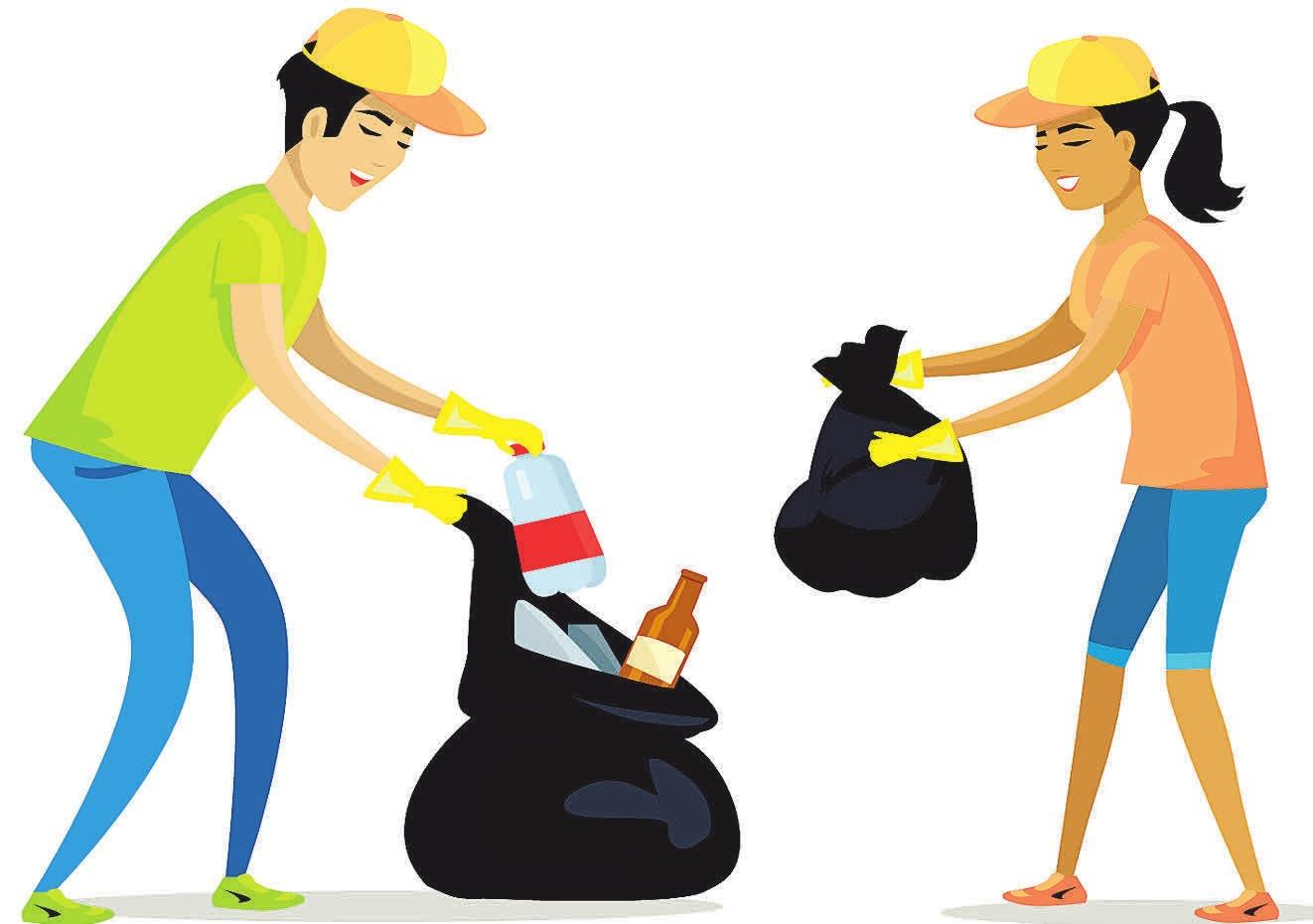 Eine saubere Umwelt ist vielen Menschen wichtig. Am 23.März besteht im Hochschulstadtteil die Möglichkeit, dazu einen Beitrag zu leisten.       Fotos: stock.adobe com